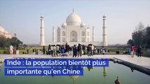 Inde la population bientôt plus importante qu'en Chine