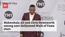 Mahershala Ali And Chris Hemsworth To Receive Hollywood Star