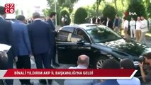 Binali Yıldırım AKP İl Başkanlığı'na geldi