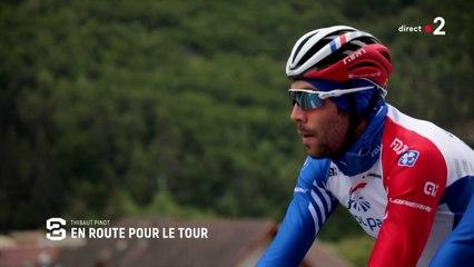 Grand Format : Thibaut Pinot en route pour le Tour de France