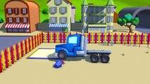 Carl le Camion Transformer et le Camion Citerne à Car City| Dessin animé pour enfants