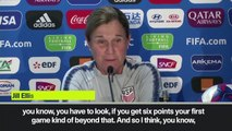 (Subtitled) 'Alex Morgan is ready to play' - USA head coach on resting players
