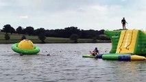 Le parc aquatique de la Haie Traversaine, dans le Nord Mayenne, a ouvert ce samedi 22 juin.