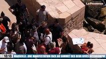 Marseille : une manifestation en réponse au Sommet des deux rives interrompue par les forces de l'ordre