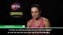 It's been an amazing journey to world number one - Barty