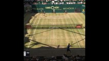 Halle - La balle de match de Federer-Goffin