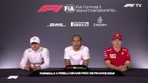 F1 2019 French GP - Post-Race Press Conference