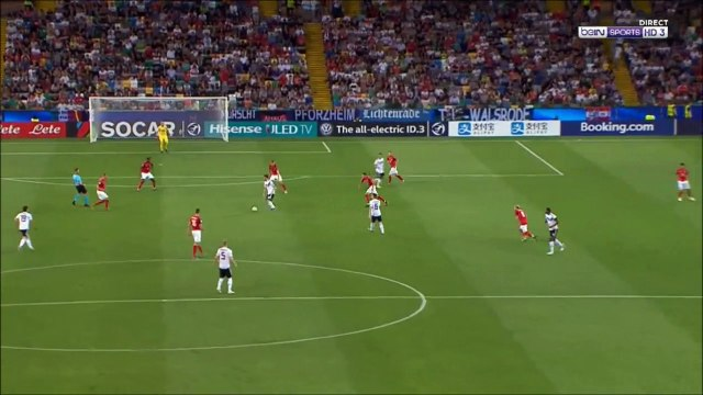 Austria U21 0-1 Germany U21 - Gian-Luca Waldschmidt awesome goal
