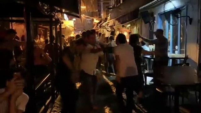 Beşiktaş'ta İmamoğlu kutlaması