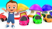 Colors for Children to Learn with Cute Color Cars Toys - Fun Learning Educational Videos for Kids