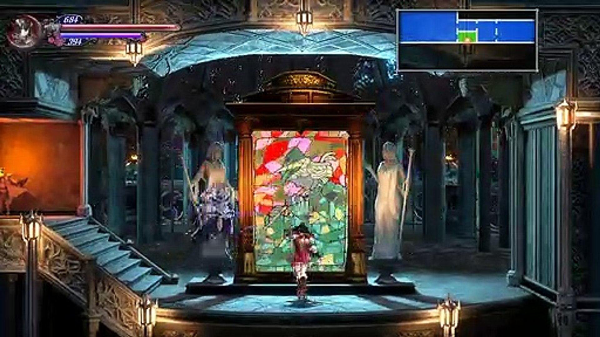 Bloodstained ROTN,Gameplay Español 9, La foto El pase para el Tren y el Rayo Reflector para los espe