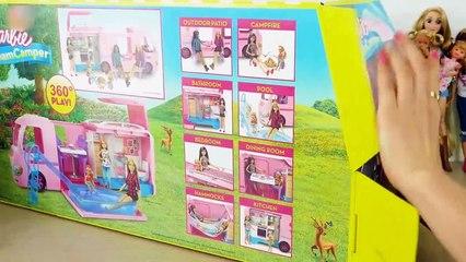 Barbie Dream Camper Barbie-Puppe Wohnmobil Berkemah mobil untuk boneka | Karla D.