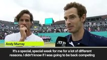 (Subtitled) Murray - Doubles win means more than some singles titles