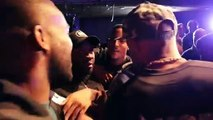 JOSHUA BUATSI & ANDRE STERLING GET INTO HEATED ARGUMENT AT MATCHROOM WEIGH-IN