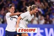 Henry offre la victoire aux Bleues face au Brésil - Foot - CdM (F)