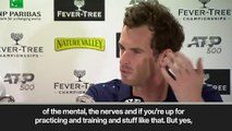 (Subtitled) 'No pain' Murray admits to being surprised by how he felt at Queen's