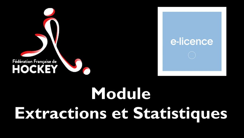 [INTRANET FFH] Module Extractions et Statistiques