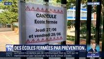 Canicule oblige, des écoles ferment par précaution jeudi et vendredi