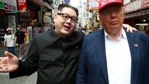 شاهد: شبيها الزعيم كيم والرئيس ترامب يثيران الإعجاب في شوارع أوزاكا اليابانية
