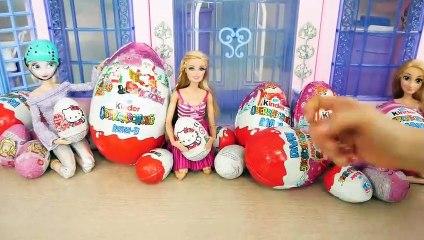 Princess Barbie Surprise Eggs Barbie Doll New RC Car Ovos Surpresa Telur Kejutan Mobil boneka Barbie | Karla D.