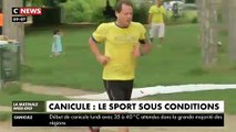 Canicule : Comment continuer à faire du sport en cas de fortes chaleurs sur la France ?