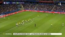 Mondial féminin : la France bat le Brésil 2-1