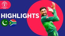 Pakistan vs South Africa - Match Highlights - ICC Cricket World Cup 2019