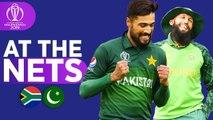 SA v PAK - At The Nets - ICC Cricket World Cup 2019