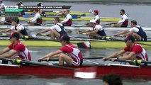 Championnat de France Junior Bateaux longs - Bourges 2019 - Finale du 8 barré hommes