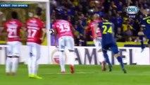 Les buts de Darío Benedetto avec Boca Juniors en Copa Libertadores