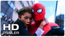 SPIDER MAN FAR FROM HOME Spider Man - MJ Swinging Scene Trailer (NEW 2019) Superhero Movie HD