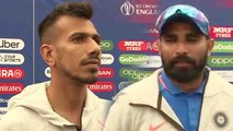 World Cup 2019 IND VS AFG : Mohammed Shami, Yuzvendra Chahal reacts over India's Win | Oneindia News