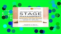 Complete acces  Back Stage Guide to Stage Management, 3rd Edition, The by Thomas A. Kelly