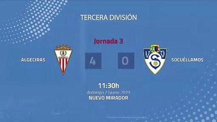 Resumen partido entre Algeciras y Socuéllamos Jornada 3 Tercera División - Play Offs Ascenso