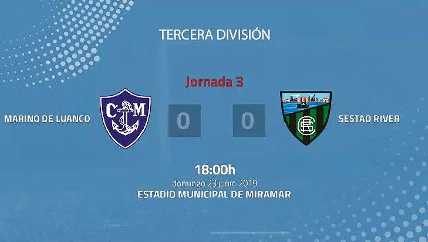 Resumen partido entre Marino de Luanco y Sestao River Jornada 3 Tercera División - Play Offs Ascenso