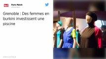 Grenoble. Des femmes défient l'interdiction et se baignent en burkini à la piscine municipale