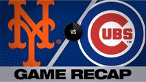 Baez's 100th homer powers Cubs past Mets - Mets-Cubs Game Highlights 6/23/19