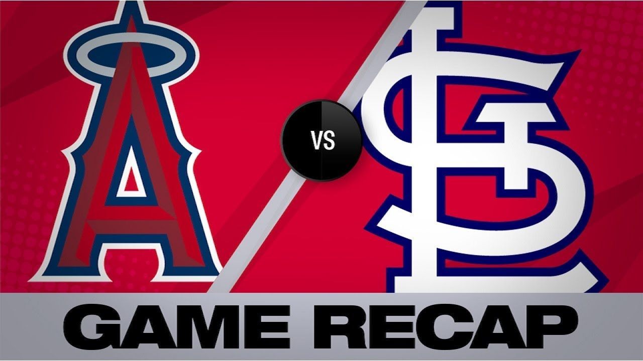 Angels win in Pujols' St. Louis farewell - Angels-Cardinals Game Highlight 6/23/19