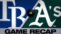 Meadows, d'Arnaud power Rays over A's - Rays-Athletics Game Highlights 6/23/19