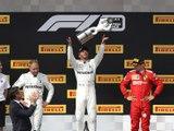 Classements du Grand Prix F1 de France 2019 - Infographie
