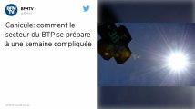 Canicule: le gouvernement et la fédération du BTP appellent à la vigilance