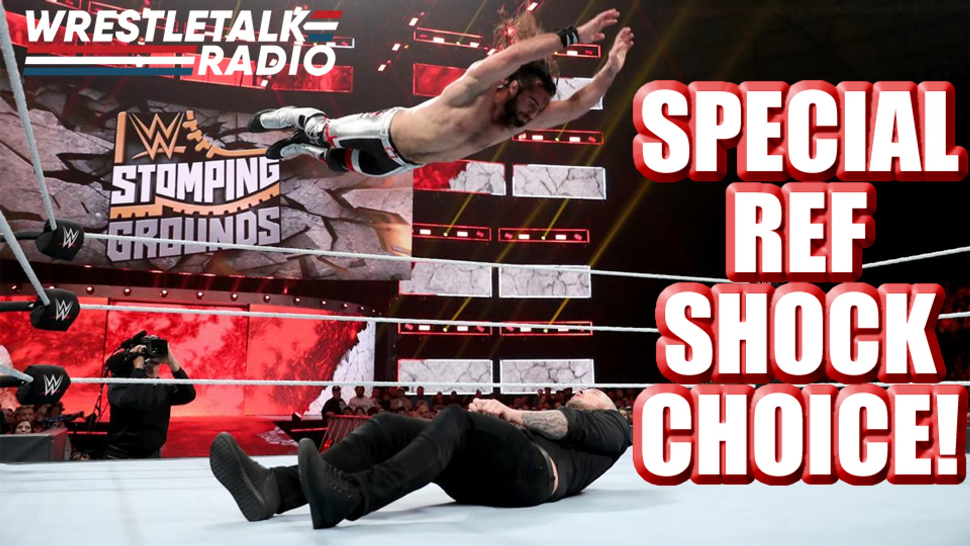 WWE Stomping Grounds Referee Choice SHOCK!! SURPRISE Title Change!! DREAM MATCH Set for WWE Raw!! –