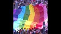 Les images de la gay pride de São Paulo, la première sous l'ère Bolsonaro