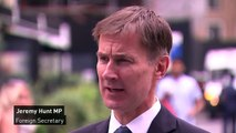 Hunt: 'Cowardly for Boris to duck serious media scrutiny'