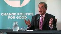 Nigel Farage: Boris Johnson row is in public interest