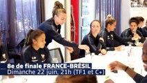 Au coeur de lhôtel des Bleues avant France-Brésil I FFF 2019