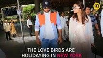 Rishi Kapoor, Ranbir Kapoor and Alia Bhatt chill with Abhishek Bachchan and family in NY, see photo