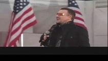 U2 au concert d'investiture d'Obama à Washington
