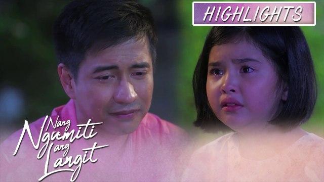 Michael gets emotional while explaining to Mikmik   Nang Ngumiti Ang Langit