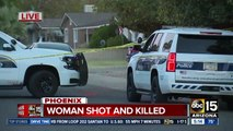 Woman shot, killed in Phoenix